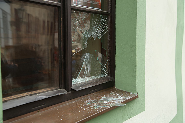 A2B Glass are able to board up broken windows while they are being repaired in Waterloo.